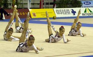 El Palacio acoge a las mejores del país de la gimnasia estética de grupo
