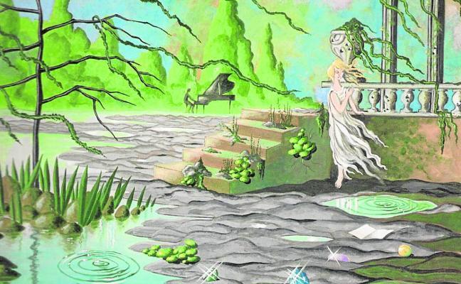 Pintura, ilustración y armadura marina