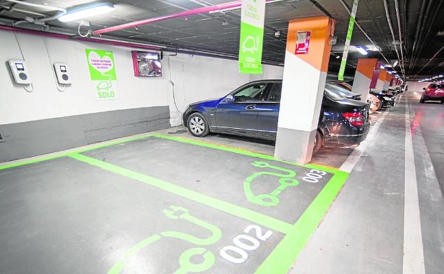 Ponen en marcha los trabajos para arreglar deficiencias en 15 aparcamientos
