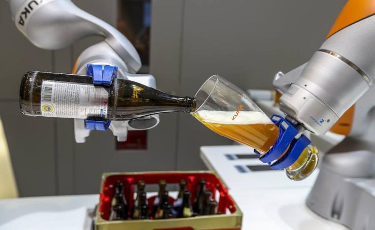 Los robots toman Hanover