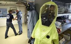 Dentro del laboratorio encargado de liberar al mundo de las armas químicas