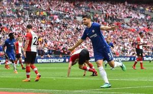 Morata y Giroud citan al Chelsea con el United en la final de la FA Cup