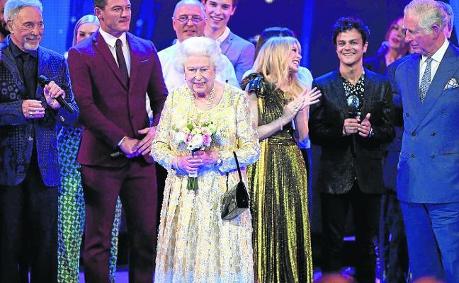 El rock salve a la reina