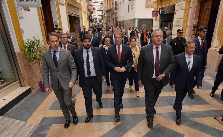 El ministro De la Serna visita Lorca