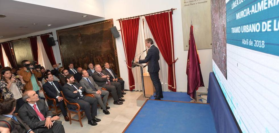 De la Serna: «En dos meses se licitarán obras de autovías y ferrocarriles por 1.730 millones en la Región»