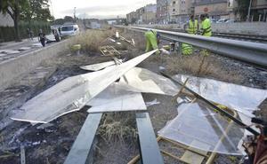 El Gobierno cuantifica en 1,1 millones los daños por vandalismo en las obras del AVE a Murcia
