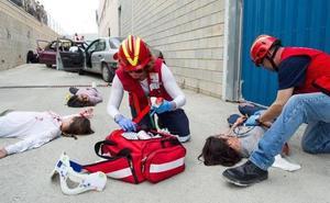 Catástrofe simulada en la Región