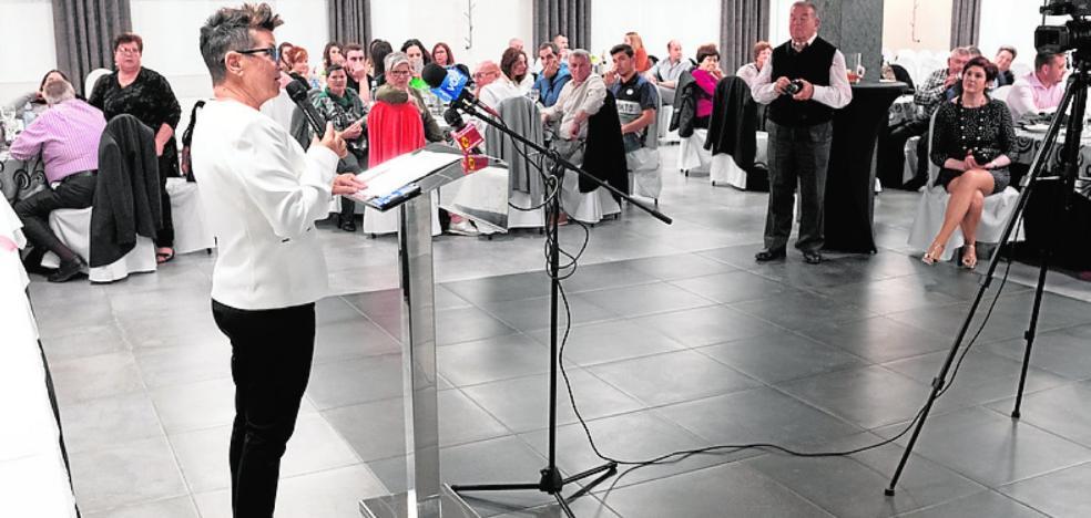 Esther de la Vega pregona las fiestas de San Isidro
