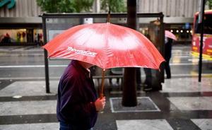 Las lluvias llegan este miércoles a la Región acompañadas de tormentas
