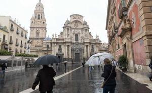 La lluvia deja hasta 8 litros en algunos puntos de la Región