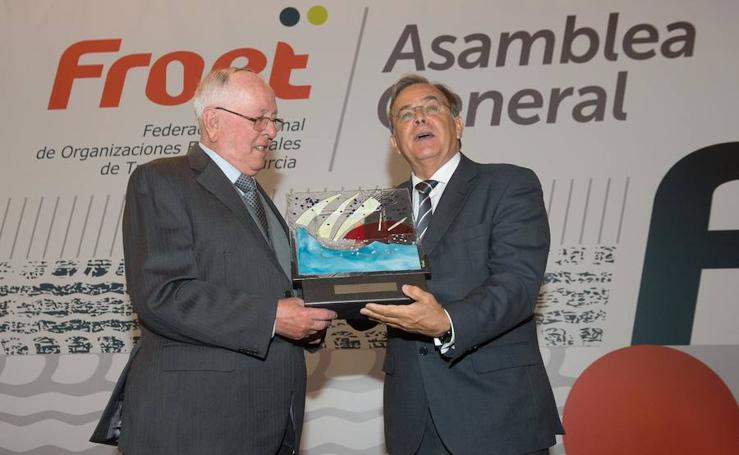 Entrega de los premios anuales de Froet