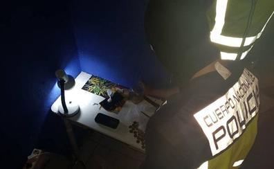 Cuatro detenidos en una redada antidroga en Las Seiscientas