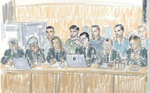 Así son los cinco acusados de 'la Manada'