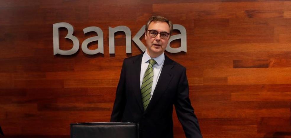 El beneficio de Bankia cae un 24,5% por menos plusvalías y el coste de BMN