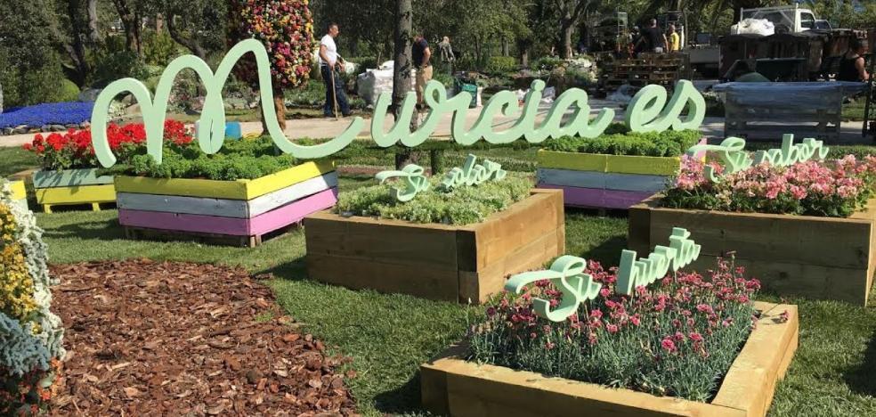 Génova invita a Murcia a promocionarse en la mayor feria de paisajismo urbano