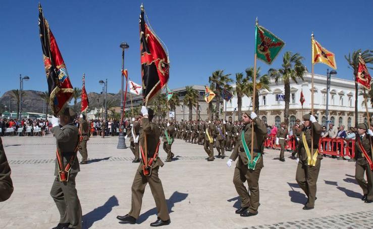 Celebración del 2 de mayo en Cartagena