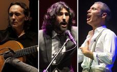 Vicente Amigo, Arcángel, Diana Navarro y Pitingo actuarán en el Cante de las Minas