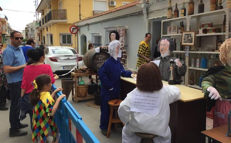Celebración de Los Mayos de Alhama de Murcia 2018