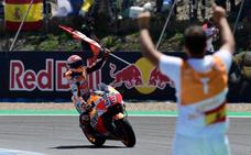 Carrera redonda para Márquez tras el incidente entre Pedrosa y las Ducati