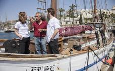 ANSE clasifica más de 2.400 residuos flotantes en las costas de Mazarrón