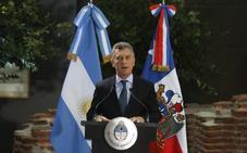 Argentina pide apoyo financiero al FMI