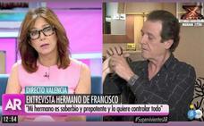El tremendo corte de Ana Rosa Quintana al hermano de Francisco