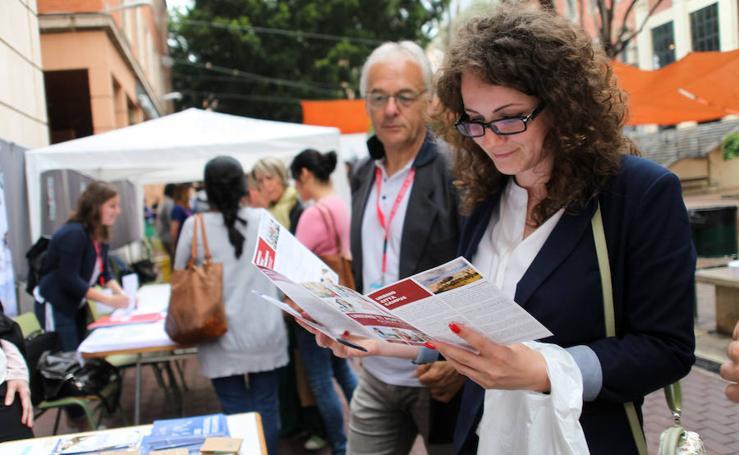 La Merced acoge la Feria Erasmus