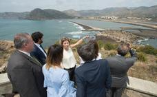Tejerina anuncia una inversión de 33 millones para Portmán, el proyecto mas importante de restauración en España