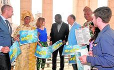 La comunidad africana está de fiesta