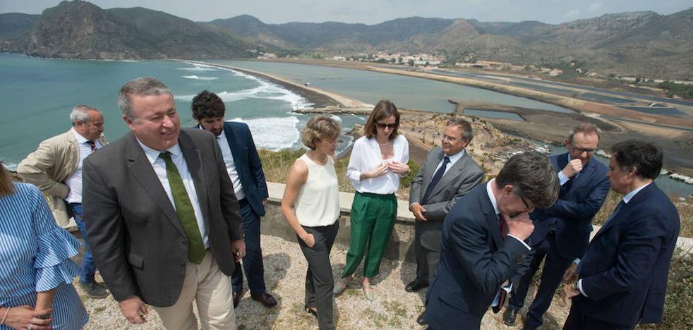 Bernabé puntualiza a la ministra y dice que la obra de Portmán estará en 2020