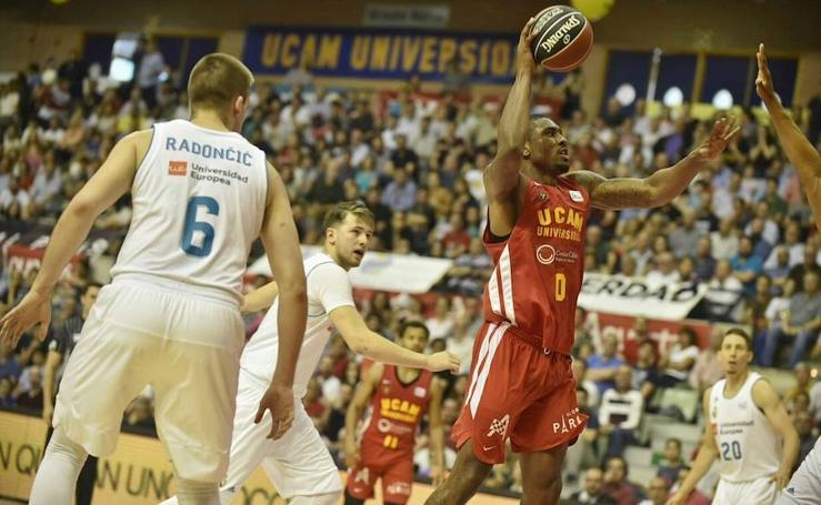 Imágenes del UCAM CB Murcia-Real Madrid