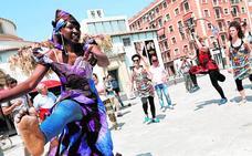 Música y color en el Día de Africa