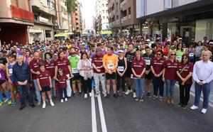 Más de 700 participantes corren por Lorca