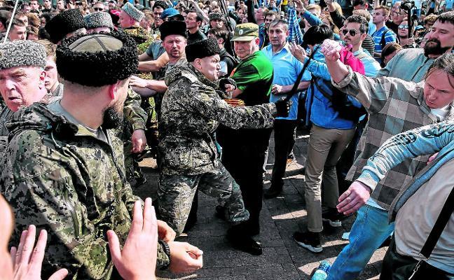 La carga de los cosacos