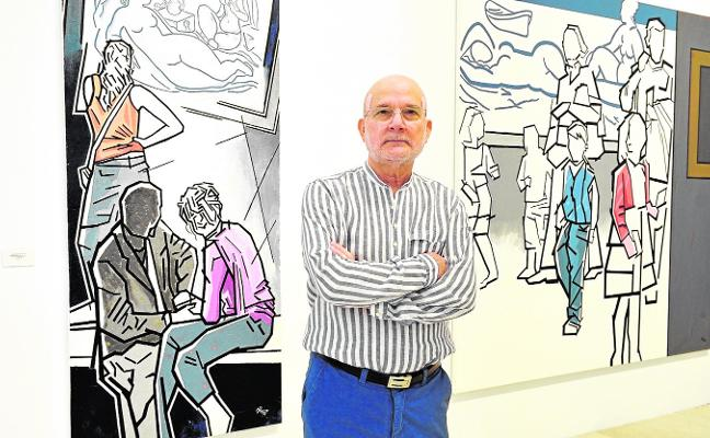 Manolo Pardo expone sus 'Nuevas miradas' en el Museo de Bellas Artes