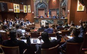 PP y Cs proponen celebrar el debate del estado de la Región el 11 y 12 de junio