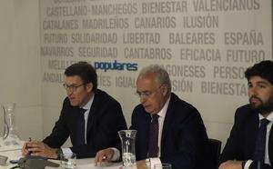 López Miras espera que el PP sea capaz de «vender y explicar lo que se ha hecho»