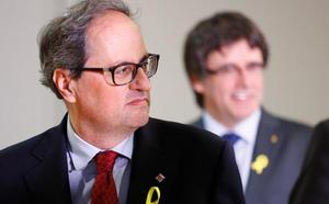 Torra: «Señor Rajoy, marque día y hora para reunirnos»
