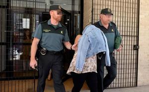 Prisión provisional para la vecina de Archena acusada de rociar con ácido a su marido