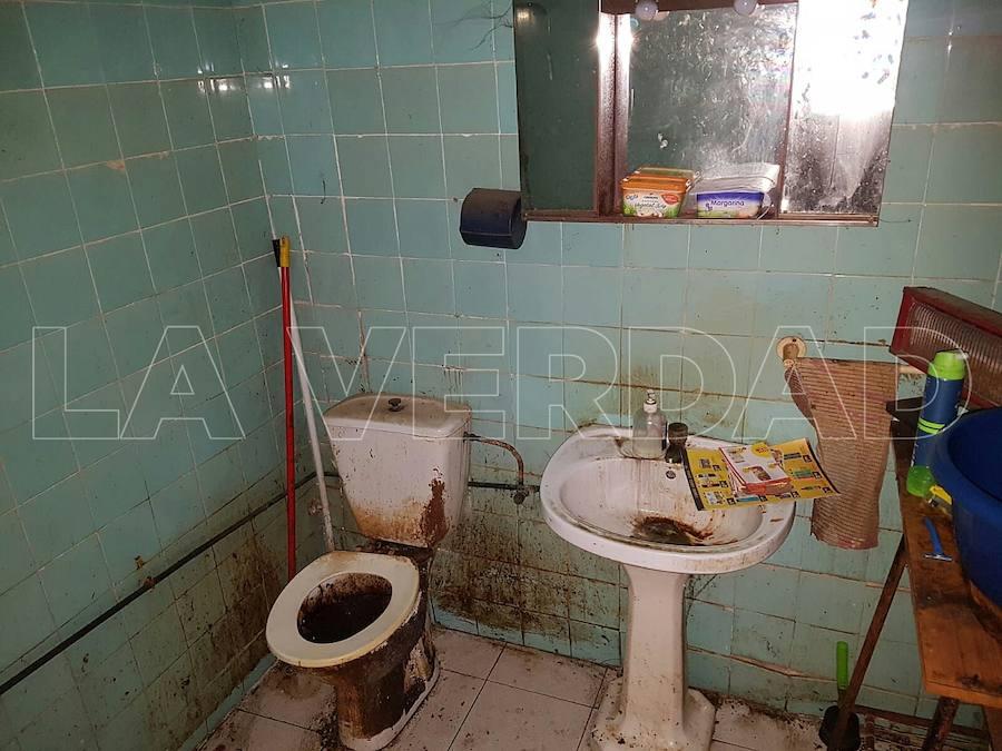 Así era por dentro la 'casa de los horrores' descubierta en Alcantarilla
