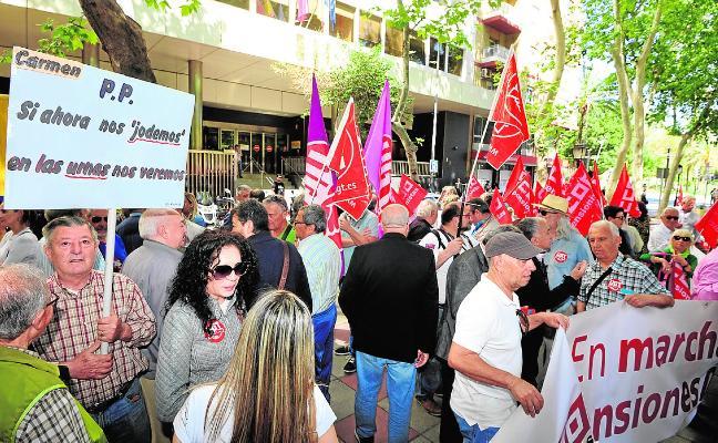 Otra protesta para exigir la revalorización de las pensiones