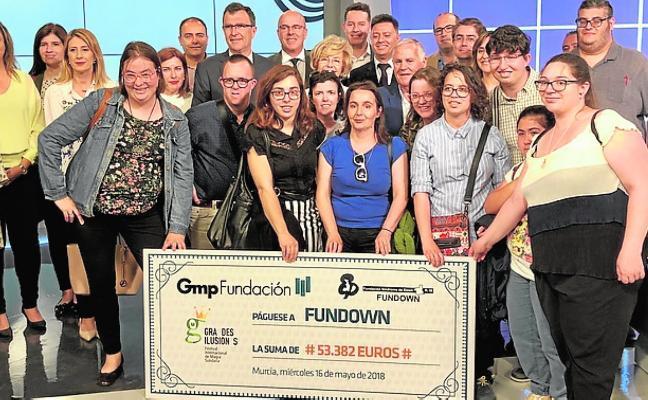 Fundown recibe 53.000 euros para sus proyectos