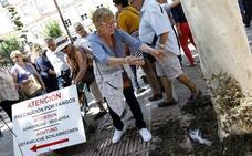 Protesta de vecinos del Mar Menor en Murcia