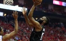 Harden lidera a Houston para empatar la serie ante los Warriors