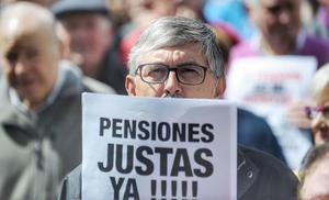 Apoyo unánime del Congreso a la subida de las pensiones con el IPC