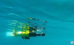 El dron submarino de la UPCT pone rumbo al Pacífico