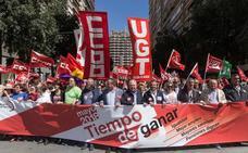 CC OO y UGT llaman a protestar el día 22 por unos salarios dignos