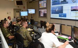La Armada finaliza el simulacro marítimo en Gibraltar y Almería