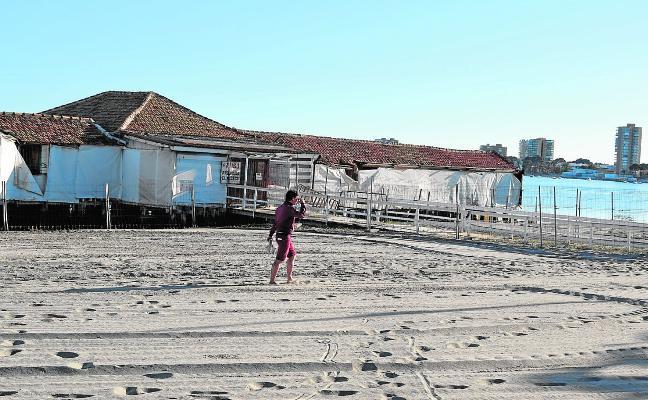 Frenan la reconstrucción del balneario de San Pedro del Pinatar por los efectos negativos en la laguna