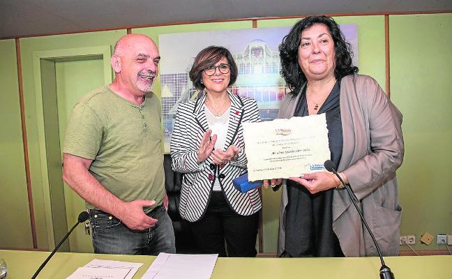 La memoria histórica premia a Almudena Grandes